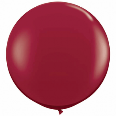 "Bordeaux metallic 40""(Ø 100 cm) latex ballon(kuglerund)"