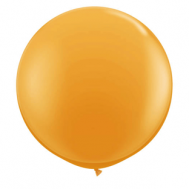 "Orange pastel 72""(Ø 180 cm) latex ballon(kuglerund)"