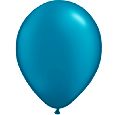"Blå metallic 12""(30cm) latex ballon"