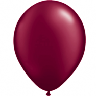 "Bordeaux metallic 12""(30cm) latex ballon"