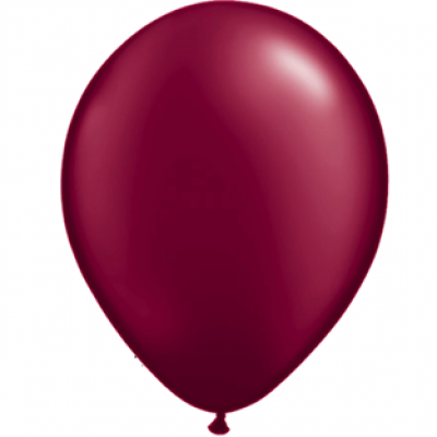 "Bordeaux metallic 14""(35cm) latex ballon"
