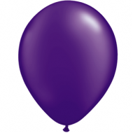 "Lilla metallic 14""(35cm) latex ballon"