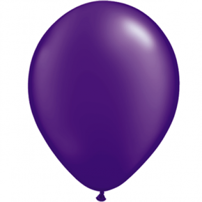 "Lilla metallic 12""(30cm) latex ballon"