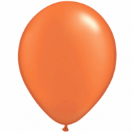 "Orange metallic 14""(35cm) latex ballon"