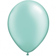 "Turkis metallic 14""(35cm) latex ballon"