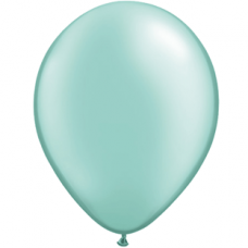 "Turkis metallic 12""(30cm) latex ballon"