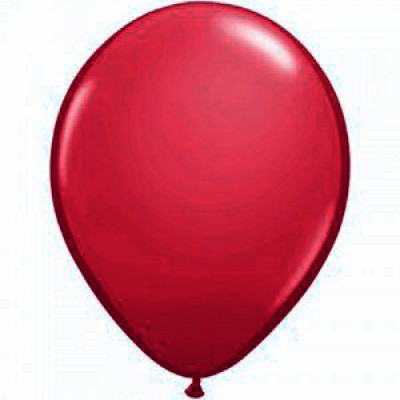 "Bordeaux pastel 10""(25cm) latex ballon"