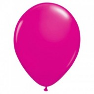 "Fuchsia pastel 14""(35cm) latex ballon"