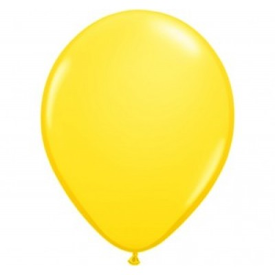 "Gul pastel 10""(25cm) latex ballon"