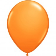 "Orange pastel 14""(35cm) latex ballon"