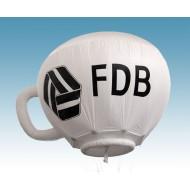 FDB kaffe kop til helium, 4 m diameter