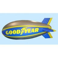 Goodyear Blimp / Zeppelin 6,5 m længde