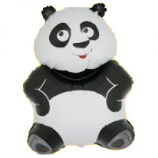 "Panda sort folie ballon 29"" (u/helium)"