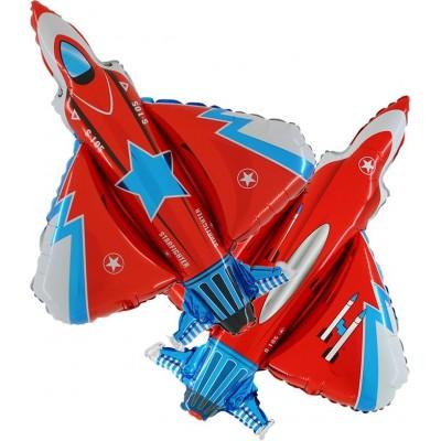 "Jagerfly folie ballon 31"" (u/helium)"