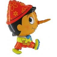 "Pinocchio folie ballon 24"" (u/helium)"
