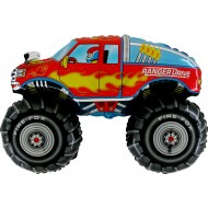 "Monstertruck folie ballon 31"" (u/helium)"