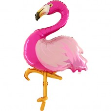 "Flamingo folie ballon 40"" (u/helium)"