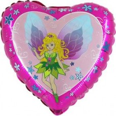 "Fe folie ballon 18"" (u/helium)"