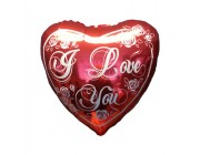 I Love You folie ballon 18""