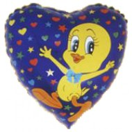 "Milly ""Tweety"" Duck folie ballon 18"" (u/helium)"