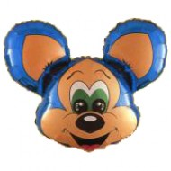 "Macho Mouse folie ballon 28"" (u/helium)"