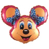 "Peggy Mouse folie ballon 28"" (u/helium)"