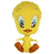 "Milly ""Tweety"" Duck folie ballon 30"" (u/helium)"