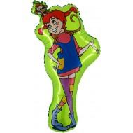 """Pippi licens folie ballon 29"""" (u/helium)"""