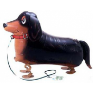 "Gravhund walking folie ballon 27"" (u/helium)"