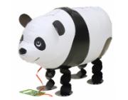 "Panda walking folie ballon 28"" (u/helium)"