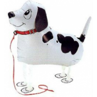 "Pointer hund walking folie ballon 22"" (u/helium)"