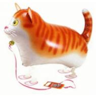 "Kat walking folie ballon 24"" (u/helium)"